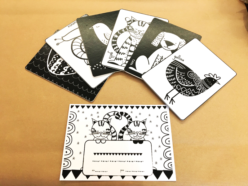 BABY CARD_BLACKANDWHITE_ELISAZAGO.COM
