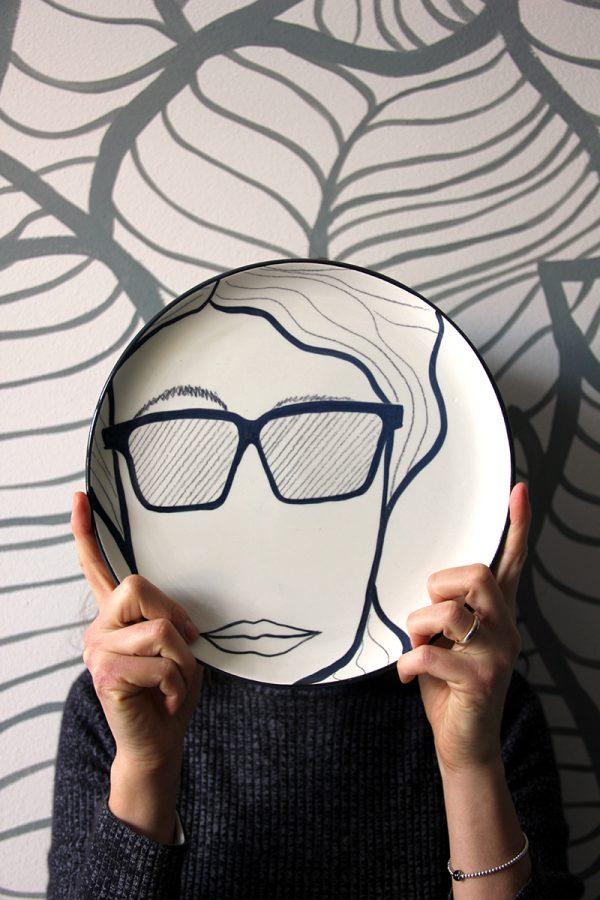 La faccia nel piatto • Karl Lagerfeld